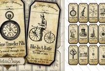 Steampunk graphic inspiration