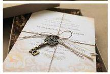 Wedding invitation & menu