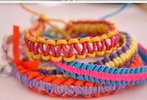 bracelets / diy bracelets