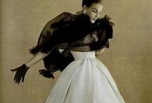 House of Dior / ✽ vintage fashion by House of Dior ✽ French designer Christian Dior founded his fashion house in Paris in 1946 ✽