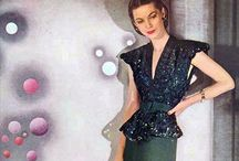 [1940s] ~ evening wear / ★1940s vintage fashion ★ evening wear ★