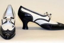 [1920s] ~ shoes & hosiery / │ vintage shoes and hosiery from the 1920s │