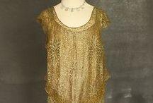 [1930s] ~ metallic fashion / │1930s vintage fashion │ metallic clothing │ silver & gold │ sequins & lamé │