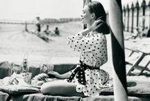 [1940s] ~ dotty fashion / ★ 1940s vintage fashion ★ polka dots ★
