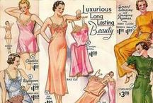 1930s fashion advertisements / vintage advertisements from the 1930s about clothing, accessories, shoes, cosmetics, or jewellery • magazines • catalogs