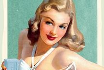 1940s fashion advertisements / vintage fashion advertisements from the 1940s about clothing, accessories, shoes, cosmetics, or jewelry  • magazine illustrations  • catalogs