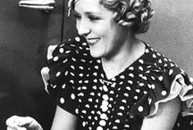 [1930s] ~ dotty fashion / ★ 1930s vintage fashion ★ polka dot fashions ★