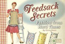 [1930s] ~ feedsack dresses / ★ 1930s feedsack clothing ★ during the Depression and into the war years, fabrics were in short supply and high demand ★ when mills realized that women were using their sacks to make clothes, the mills started using flowered fabric for their sacks ★
