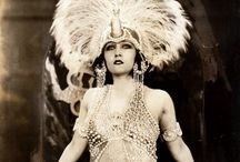 1920s showgirl fashions / │1920s vintage fashion │ costumes worn by showgirls and entertainers│ Ziegfeld girls │silent film stars │