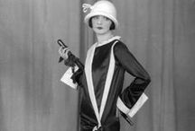 [1920s] ~ town & event fashions / │ 1920s vintage fashion │smart-looking dresses for going out  │fashions that women might wear into town or to social events away from the home │
