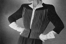 [1940s] ~ suits & jackets / ★ 1940s vintage fashion ★ women's suits and jackets ★