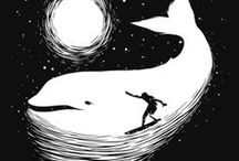 Whaletastic / Whales are majestic creatures! Beasts to be reckoned with but friendly giants of the sea at the same time.