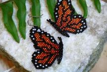 Beaded butterflyes