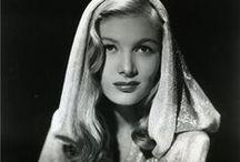 [1940s] ~ hoods / │1940s vintage fashion │ hoods │ hooded dresses │