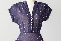 [1940s] ~ sheer dresses / ★ 1940s sheer dresses ★ worn over flesh-toned or colored slips ★ particularly in the summer ★
