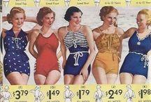 [1930s] ~ swimwear / ★ 1930s vintage fashion ★ swimwear fashions ★