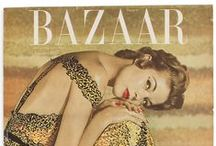 1950s fashion magazines / women's magazine covers from the 50s....Harper's Bazaar, Glamour, Charm, Mademoiselle, Seventeen...and any magazine showing the style and fashions of the time