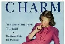 1940s fashion magazines / women's magazine covers from the 1940s....Harper's Bazaar, Marie Claire (French only), Glamour (1939), Mademoiselle (1935), Charm, Seventeen (1941)...and any magazine showing the style and fashions of the time