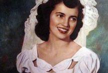 [1940s] ~ bridal fashion / │1940s vintage fashion │bridal fashions │wedding gowns │bridesmaids dresses │