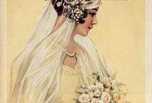 1920s bridal fashions / │1920s vintage fashion │bridal fashions │wedding gowns │bridesmaids dresses │