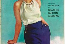 [1930s] ~ casual wear / | 1930s casual and active wear | shorts and tops | playsuits | summer fashion |