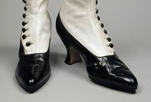 1910s shoes & hosiery