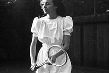 [1940s] ~ sportswear / ★ 1940s sports fashion for all sports ★ tennis ★ skating ★ skiiing ★