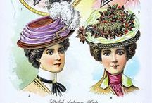 1900s hats & accessories / 1900s vintage fashion • hats & accessories