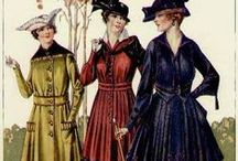 1910s suits & coats / │ 1910s vintage fashion │ coats and outerwear │ walking suits │winter accessories │