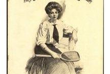 1900s sportswear / │ 1900s vintage fashion │ sportswear for all sports │ tennis │ golf │ skating │1900-1909 │