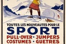 [1930s] ~ sportswear / ★ 1930s sports fashion for all sports ★ tennis ★ skating ★ skiiing ★