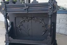 Websters & Blacks! / Websters Chalk Paint Powder mixed with our favorite shades of black!