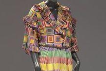 Designer: Bill Blass / Vintage fashions by American designer Bill Blass