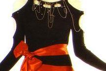 Designer: Zandra Rhodes / │ vintage fashions by English designer Zandra Rhodes from 1960s to 1990s │