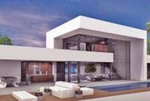 Homes Modern architectuur & styling / Modern architectuur & styling. een zoektocht naar de combinatie; luxe, comfort, warmte en stijl.