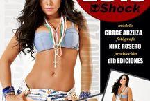 Calendario 2015 con Grace Arzuza / Grace Arzuza es la Chica Calendario 2015 en Shock Magazine
