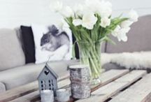 simple pretty home things / just some simple ideas that look nice