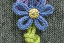 Crochet flowers and granny squares / minták