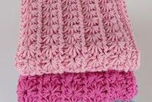 Crocket shawl, scarf