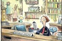 Library Funnies / Library related cartoons / by SCSU Library
