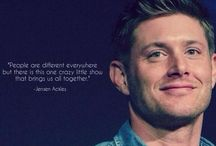 Jensen Ackles / Jensen Ackles.  'Nuff said. Y'all can thank me later.