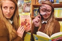 Bookish Halloween Costumes / Consider dressing up as a character from a book for Halloween!  / by SCSU Library