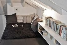 Book Nooks & Reading Spots / Oh, the places we could read...