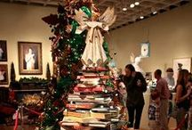 Best Book Trees / Getting in the Christmas spirit