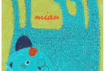 Mucki Miau Drawings / by Marlen Glüher Shop: https://www.etsy.com/shop/muckimiau