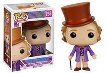 "A Fantástica Fábrica de Chocolate / Todos os Funko Pops da linha ""A Fantástica Fábrica de Chocolate"" (""Willy Wonka and the Chocolate Factory"")"
