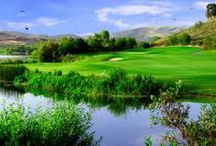 "California's Golf Coast / Go for a hole-in-one on more than 40 championship golf courses throughout OC's ""Golf Coast"" which blends challenging terrain with breathtaking views.  / by Visit Anaheim"