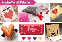 St Valentin / La Saint Valentin, fête les amoureux et de l'Amour en général !