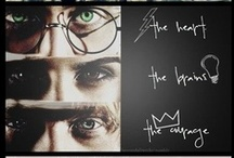 HP Madness / For all of my fellow die-hard Harry Potter fans. / by Krista Romero