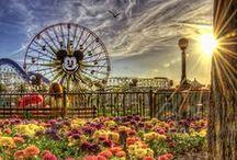 Disneyland Resort / The Disneyland Resort includes the original Disneyland Park, Disney California Adventure Park, Disneyland Hotel, Disney's Paradise Pier Hotel, Disney's Grand Californian Hotel & Spa and Downtown Disney.